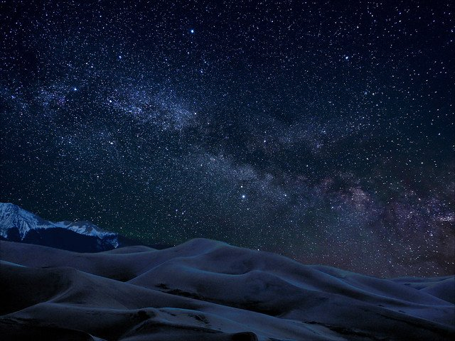 Great Sand Dunes National Park, International Dark Sky Park