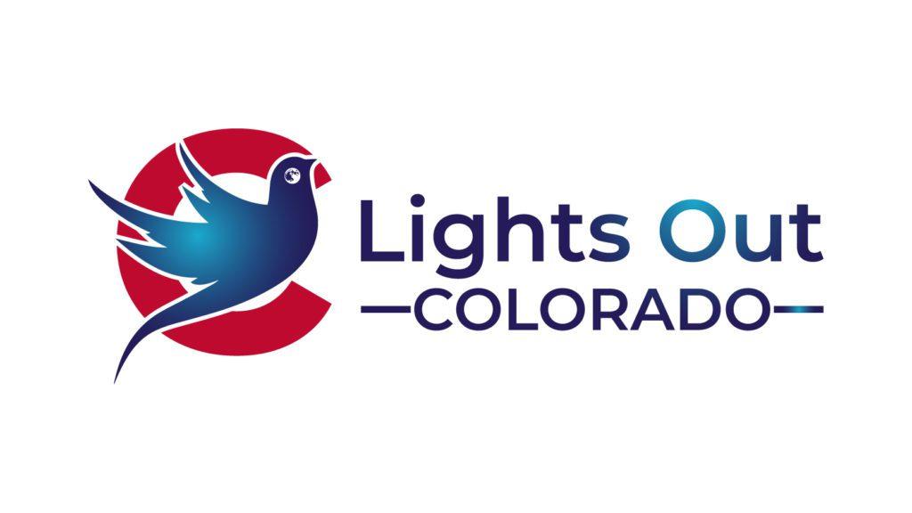 Lights Out Colorado logo
